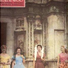 Coleccionismo de Revistas y Periódicos: MVNDO HISPÁNICO.SUPLEMENTO Nº 81.1954. ESPECIAL MONOGRÁFICO REPÚBLICA DOMINICANMA.SUMARIO.. Lote 31202897