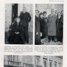Coleccionismo de Revistas y Periódicos: DUQUE DE ALBA 1930 HOJA REVISTA. Lote 31191047