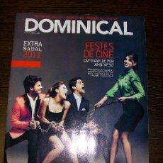 Coleccionismo de Revistas y Periódicos: DOMINICAL EL PERIÓDICO Nº 482 (2011) EXTRA NADAL 2011 - EDICIÓN EN CATALAN. Lote 31217206