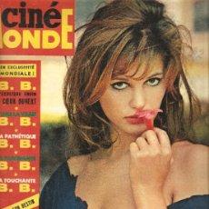 Coleccionismo de Revistas y Periódicos: CINEMONDE: CLAUDIA CARDINALE + BRIGITTE BARDOT + ALAIN DELON + ROBERT HOSSEIN . Lote 31242289