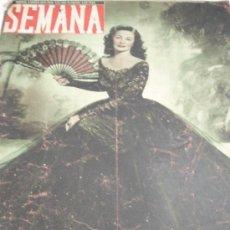 Coleccionismo de Revistas y Periódicos: REVISTA SEMANA 1948. Lote 31284692