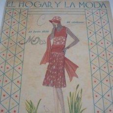 Coleccionismo de Revistas y Periódicos: REVISTA HOGAR Y MODA 1929. Lote 31285311
