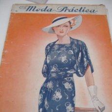 Coleccionismo de Revistas y Periódicos: REVISTA MODA PRACTICA 1936. Lote 31285389