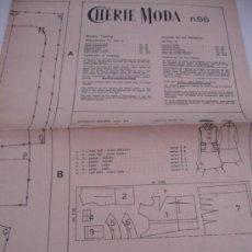 Coleccionismo de Revistas y Periódicos: PATRONES DE COSTURA . Lote 31285475