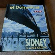 Coleccionismo de Revistas y Periódicos: REV DOMINICAL 10/94 SIDNEY AMPLIO RPTJE.PETER GREENAWAY,AUSTRALIA, MODA-VERONORINA BLUME. Lote 31282945
