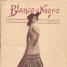 Coleccionismo de Revistas y Periódicos: BLANCO Y NEGRO. 5 DE FEBRERO DE 1911. Lote 31295823