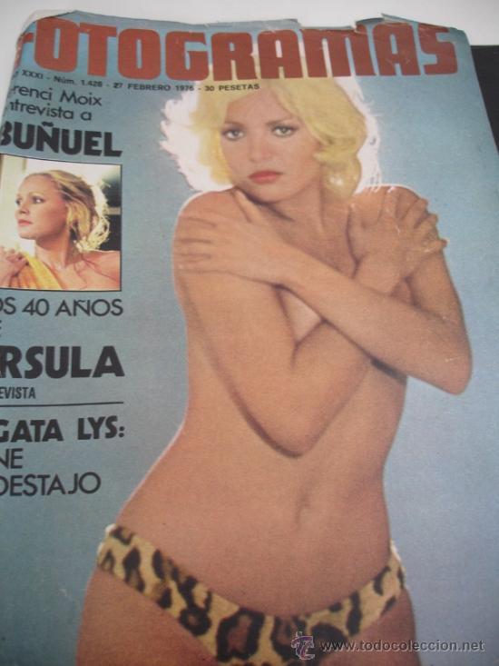 REVISTA FOTOGRAMAS AGATA LYS AÑOS 70 (Coleccionismo - Revistas y Periódicos Modernos (a partir de 1.940) - Otros)