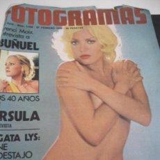 Coleccionismo de Revistas y Periódicos: REVISTA FOTOGRAMAS AGATA LYS AÑOS 70. Lote 31303248