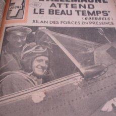 Coleccionismo de Revistas y Periódicos: LOTE REVISTA 7 DÍAS EN FRANCÉS SOBRE 2 GUERRA MUNDIAL AÑO 1941. Lote 31303718