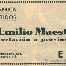 Coleccionismo de Revistas y Periódicos: * ELDA, ALICANTE * PUBLICIDAD FÁBRICA DE CURTIDOS DE EMILIO MAESTRE - 1932. Lote 31311738