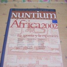 Coleccionismo de Revistas y Periódicos: NUNTIUM - Nº 6 - JULIO 2002. Lote 31337219