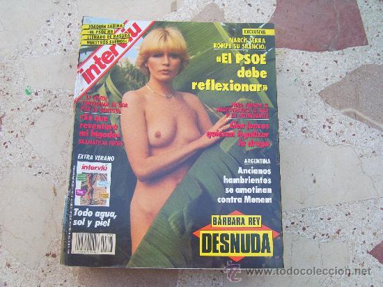 Resultado de imagen de interviu barbara rey desnuda