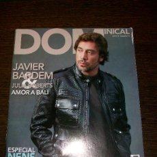 Coleccionismo de Revistas y Periódicos: DOMINICAL EL PERIODICO Nº 417 (2010) - EDICIÓN EN CATALAN - JAVIER BARDEM & JULIA ROBERTS. Lote 31364339