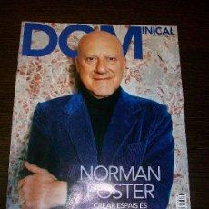 Coleccionismo de Revistas y Periódicos: DOMINICAL EL PERIODICO Nº 419 (2010) - EDICIÓN EN CATALAN - NORMAN FOSTER. Lote 31364347