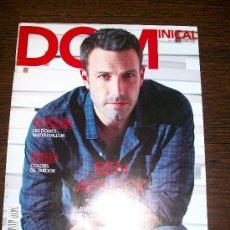 Coleccionismo de Revistas y Periódicos: DOMINICAL EL PERIODICO Nº 423 (2010) - EDICIÓN EN CATALAN - BEN AFFLECK. Lote 31364443