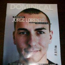 Coleccionismo de Revistas y Periódicos: DOMINICAL EL PERIODICO Nº 425 (2010) - EDICIÓN EN CATALAN - JORGE LORENZO. Lote 31364459