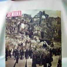 Coleccionismo de Revistas y Periódicos: REVISTA, SEMANA, Nº 61 , AÑO II, 1941. Lote 31682333