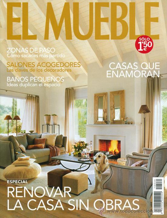 Revista el mueble salones amazing saln con chimenea for El mueble online