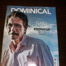 Coleccionismo de Revistas y Periódicos: DOMINICAL EL PERIODICO Nº 483 (2011) - EDICIÓN EN CATALAN - GARY OLDMAN. Lote 31557683