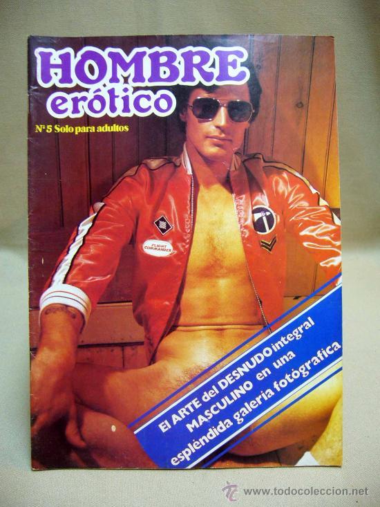 REVISTA, HOMBRE EROTICO, EROTICA, PORNO, GAY, Nº 5, EDITORIAL NAPINT, 1981 (Coleccionismo - Revistas y Periódicos Modernos (a partir de 1.940) - Otros)