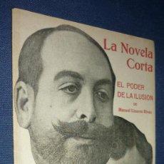 Coleccionismo de Revistas y Periódicos: LA NOVELA CORTA.-AÑO 1916. Lote 31618885