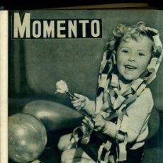Coleccionismo de Revistas y Periódicos: REVISTA MOMENTO NÚMS. 42 A 67 - 1ER SEMESTRE DE 1952. Lote 31639754