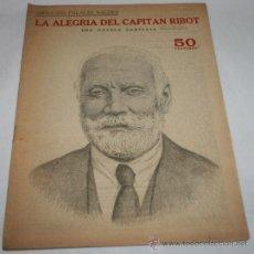 Coleccionismo de Revistas y Periódicos: LA ALEGRIA DEL CAPITAN RIBOT - REVISTA LITERARIA NOVELAS Y CUENTOS 1940. Lote 31704299