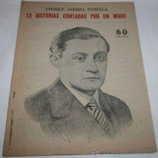 Coleccionismo de Revistas y Periódicos: 13 HISTORIAS CONTADAS POR UN MUDO - REVISTA LITERARIA NOVELAS Y CUENTOS . Lote 31704558