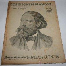 Coleccionismo de Revistas y Periódicos: LOS BISONTES BLANCOS - 1932 - REVISTA LITERARIA NOVELAS Y CUENTOS . Lote 31705618