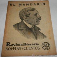 Coleccionismo de Revistas y Periódicos: EL MANDARIN - 1932 - REVISTA LITERARIA NOVELAS Y CUENTOS . Lote 31705688