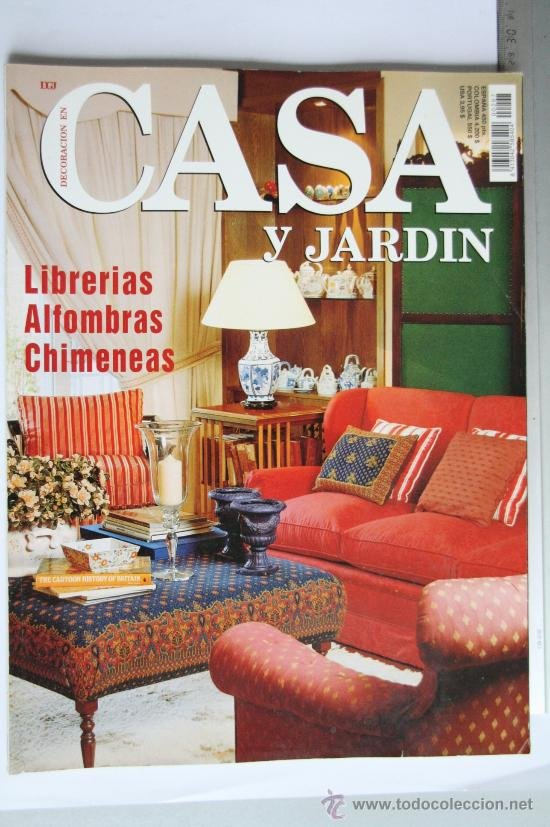 Casa y jardin revista decoracion excellent decoracin with for Casa jardin revista