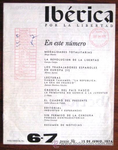 Ib rica por la libertad victoria kent 1974 e comprar for La iberica precios