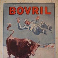Coleccionismo de Revistas y Periódicos: PUBLICIDAD BOVRIL PARACAIDISTA - 1942 - 25 X 36 CM.APROX.. Lote 31839394