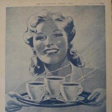 Coleccionismo de Revistas y Periódicos: PUBLICIDAD OXO - 1942 - 25 X 36 CM.APROX.. Lote 31839767