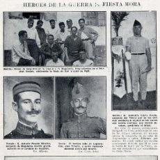 Coleccionismo de Revistas y Periódicos: MARRUECOS 1924 FIESTA MORAB REGULARES HOJA REVISTA. Lote 31862223