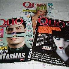 Coleccionismo de Revistas y Periódicos: CUATRO REVISTAS QUO AÑO 2010-2011. Lote 31880768