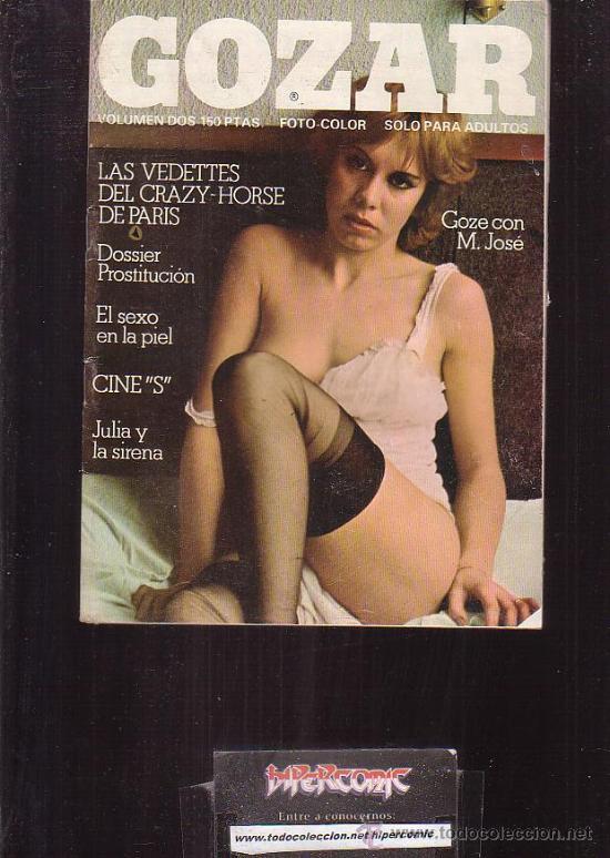 GOZAR VOLUMEN 2 REVISTA EROTICA DE LOS AÑOS 70 (Coleccionismo - Revistas y Periódicos Modernos (a partir de 1.940) - Otros)
