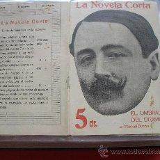 Coleccionismo de Revistas y Periódicos: MANUEL BUENO.-EL UMBRAL DEL DRAMA.-LA NOVELA CORTA.. Lote 31921229