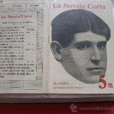 Coleccionismo de Revistas y Periódicos: LA NOVELA CORTA -FEDERICO GARCÍA SANCHIS, EL BAILE. Lote 31921254
