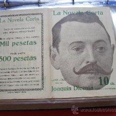 Coleccionismo de Revistas y Periódicos: LA NOVELA CORTA .-JOAQUIN DICENTA.- JUAN JOSÉ. Lote 31921618
