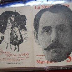 Coleccionismo de Revistas y Periódicos: LA NOVELA CORTA .- MARQUINA .- LA MISA AZUL.. Lote 31923111