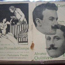 Coleccionismo de Revistas y Periódicos: LA NOVELA CORTA .- ALVAREZ QUINTERO .- PEPITA REYES.. Lote 31923137