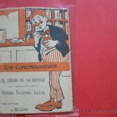 Coleccionismo de Revistas y Periódicos: L0S CONTEMPORANEOS .- ANTONIO FERNÁNDEZ LEPINA.- EL DRAMA DE LA BOTICA.. Lote 31923845