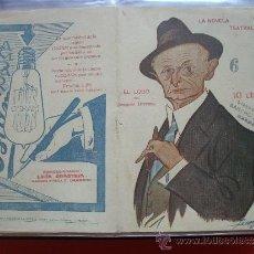 Coleccionismo de Revistas y Periódicos: LA NOVELA TEATRAL .- JOAQUIN DICENTA.- EL LOBO.. Lote 31923890