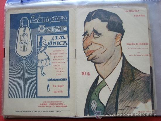 LA NOVELA TEATRAL .- TORRES DEL ALAMO Y ASENJO.- SERAFINA LA RUBIALES O UNA NOCHE EN EL JUZGAO. (Coleccionismo - Revistas y Periódicos Antiguos (hasta 1.939))
