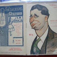 Coleccionismo de Revistas y Periódicos: LA NOVELA TEATRAL .- TORRES DEL ALAMO Y ASENJO.- SERAFINA LA RUBIALES O UNA NOCHE EN EL JUZGAO.. Lote 31923924
