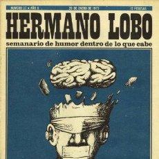 Coleccionismo de Revistas y Periódicos: HERMANO LOBO Nº 37. Lote 31935098