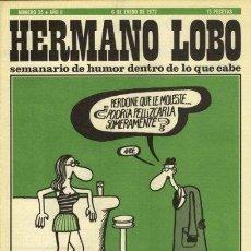 Coleccionismo de Revistas y Periódicos: HERMANO LOBO Nº 35. Lote 31935113