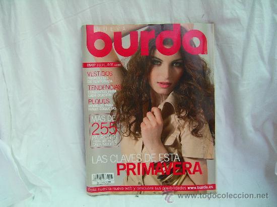 Burda Mayo 2007 Extra Vestidos Moda Primavera Comprar Revistas Y