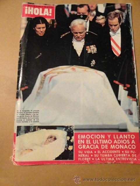 Revista Hola Muerte Grace Kelly Comprar Revistas Y